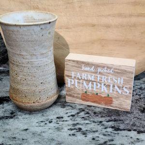 🌵Vintage Handmade Pottery Vase